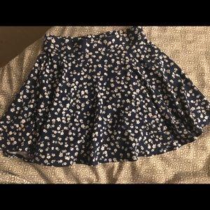 Flower Mini Skirt